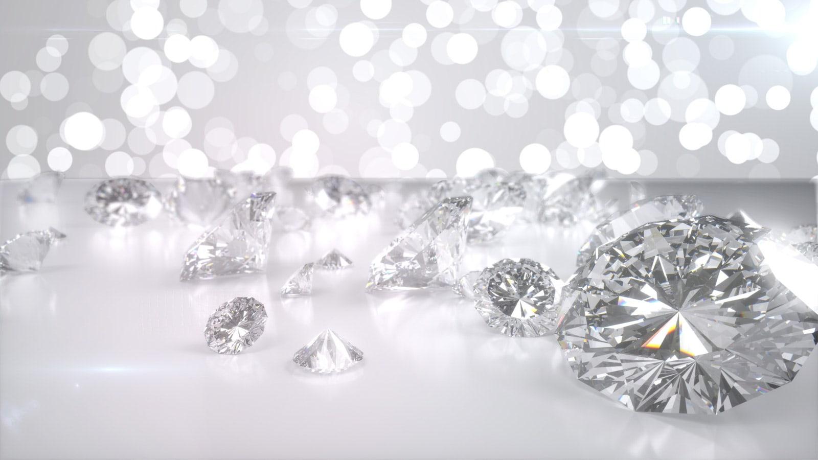 Diamantenregen - Syntethische Industrie- und Schmuckdiamanten